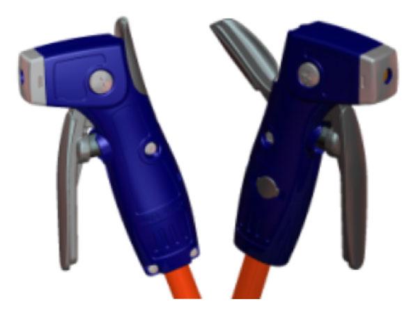 Isolating-Locking Welding Electrode Holder