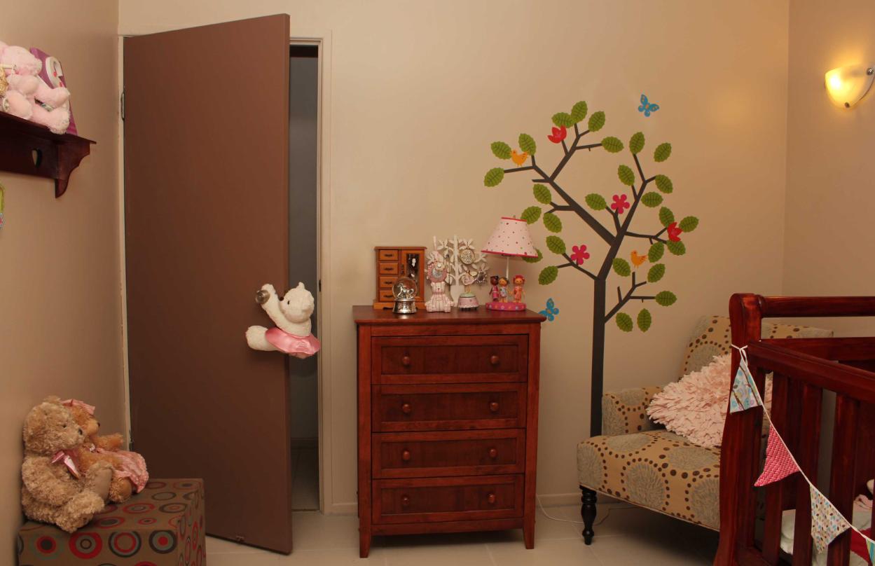 adoorabear on bedroom door child safety door stay