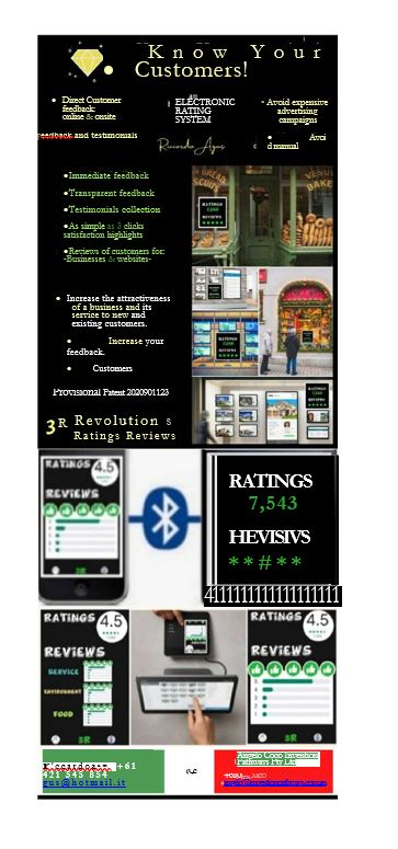 Customer Ratings review example